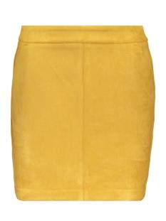 Vero Moda Rok VMDONNADINA FAUX SUEDE SHORT SKIRT 10210432 Amber Gold