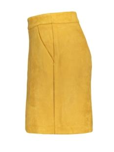 vmdonnadina faux suede short skirt 10210432 vero moda rok amber gold