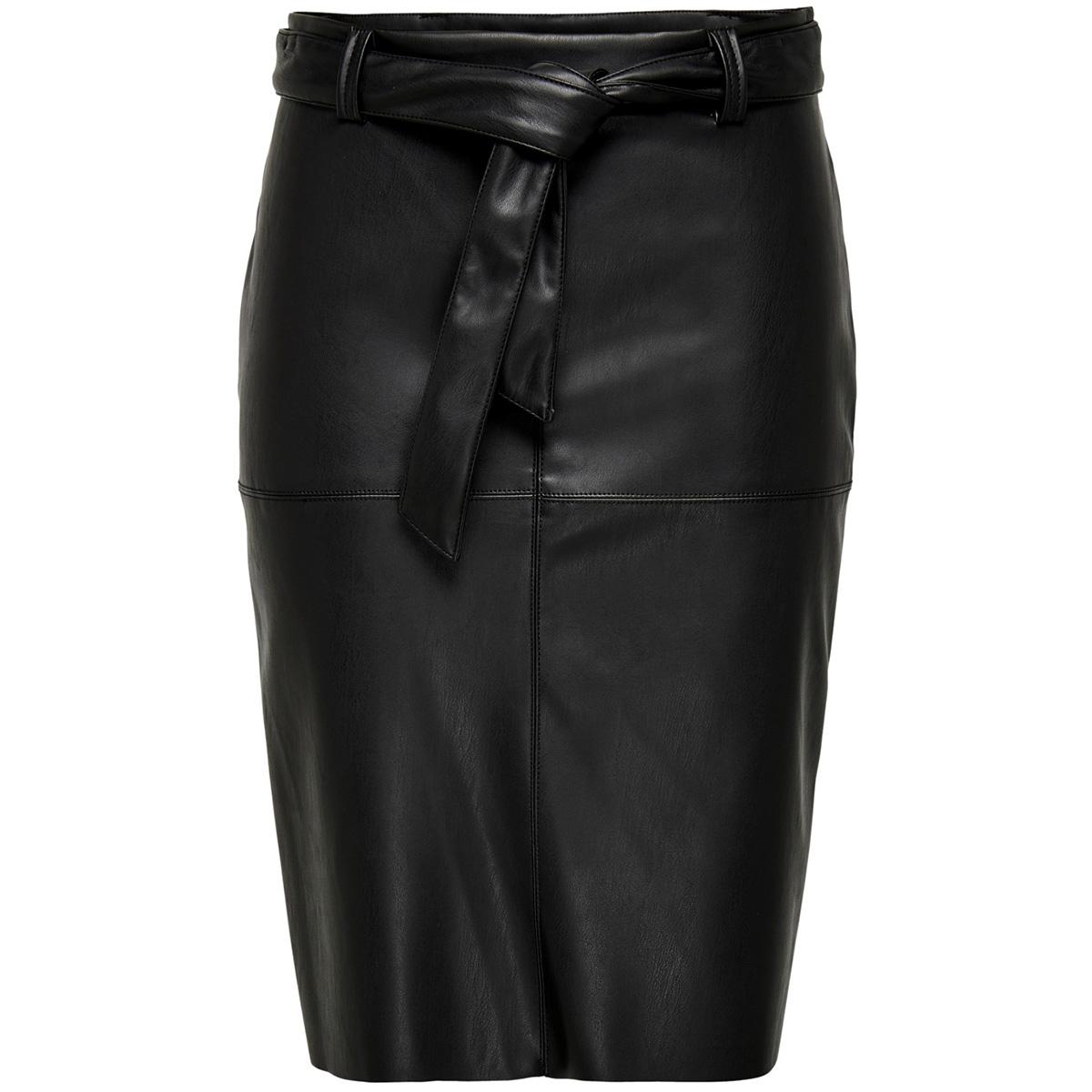 jdyopel belt faux leather skirt otw sie 15193950 jacqueline de yong rok black