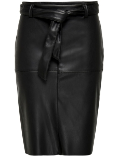Jacqueline de Yong Rok JDYOPEL BELT FAUX LEATHER SKIRT OTW SIE 15193950 Black