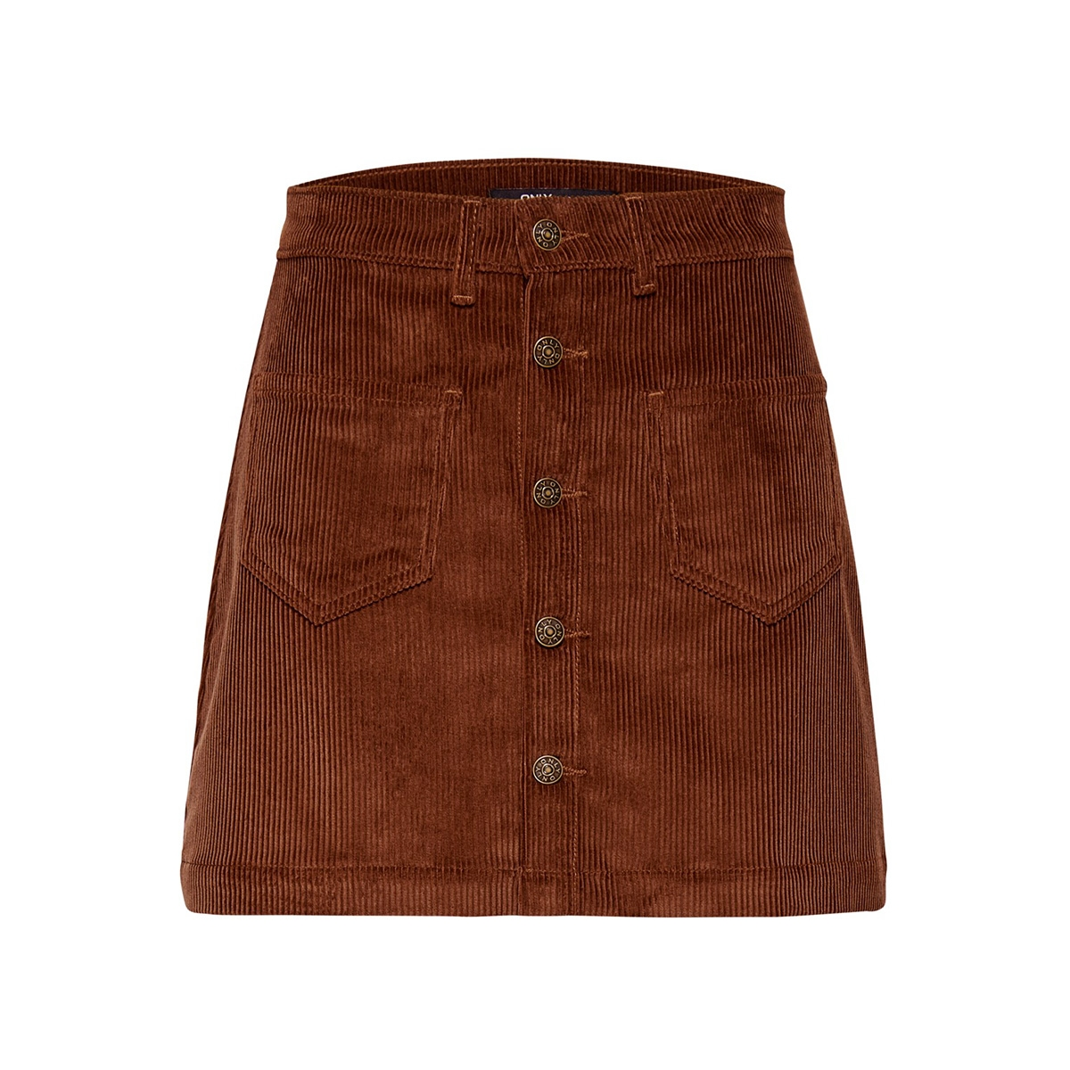 onlamazing hw corduroy skirt pnt no 15182080 only rok coffee bean
