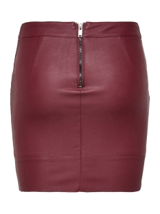 onlbase faux leather skirt otw noos 15164809 only rok port royale