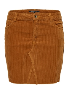 Only Rok ONLBITTEN CORD SKIRT PNT 15185138 Ginger bread