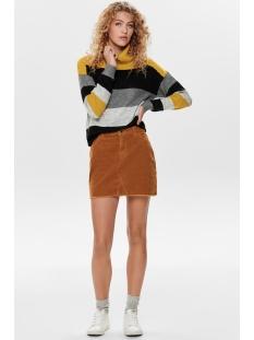 onlbitten cord skirt pnt 15185138 only rok ginger bread