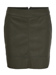 ONLBASE FAUX LEATHER SKIRT OTW NOOS 15164809 Peat