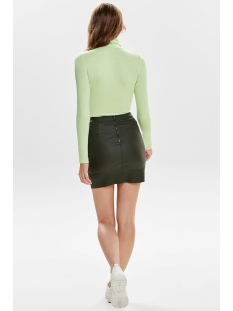 onlbase faux leather skirt otw noos 15164809 only rok peat