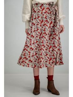 bloemenrok h90320 garcia rok 3497 rosso