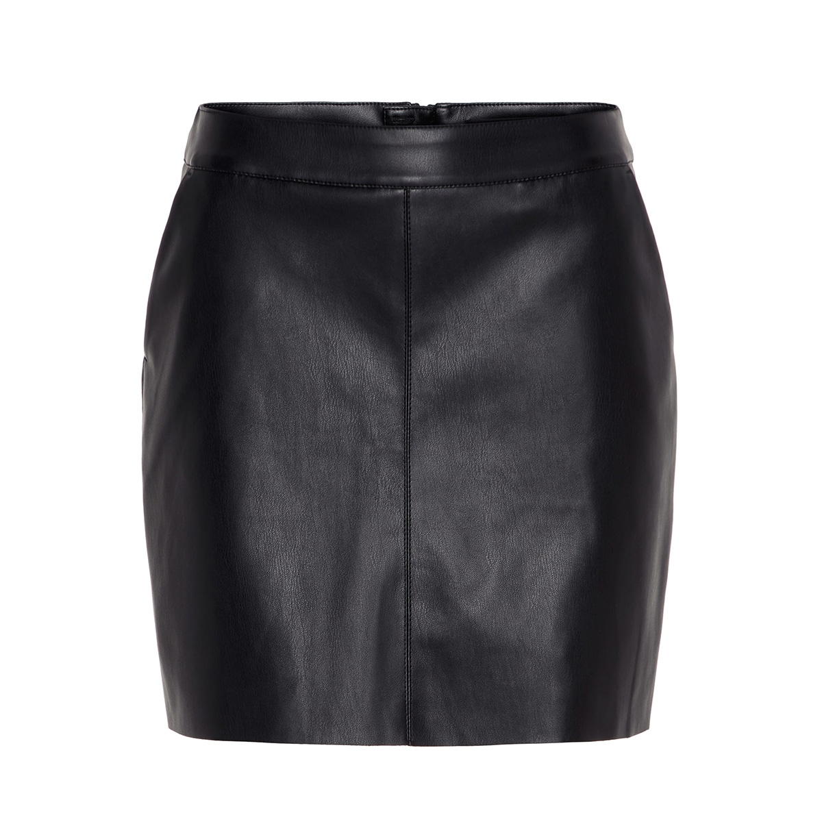 vmyoursbutter nw short coated skirt noos 10209924 vero moda rok black