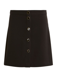 Vila Rok VIMICCA BUTTON SKIRT C8 14055050 Black/TRIM LIGHT