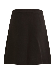 vimicca button skirt c8 14055050 vila rok black/trim light