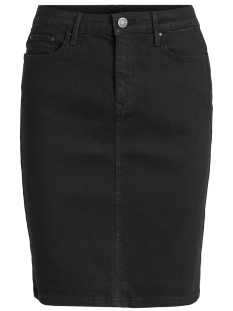 Vila Rok VICOMMIT FELICIA SHO. SKIRT V.BLACK 14052674 Black/WASHED