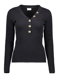 Vila Trui VISOLTA KNIT L/S TOP/1 14056277 Black
