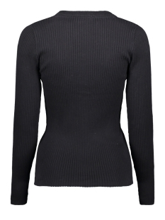 visolta knit l/s top/1 14056277 vila trui black