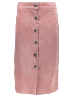Goût d'Anvers Rok SKIRT CORDUROY BUTTON DOWN GDA12 0600 SOFT PINK