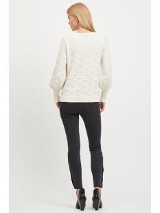 objbouble l/s knit pullover div 23027743 object trui gardenia