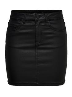 onlfia mini coated skirt pnt 15184929 only rok black