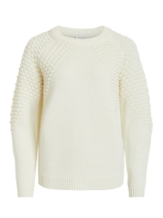 Vila Trui VIDOTANA KNIT L/S TOP 14053653 Whisper White