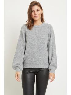 objeve nonsia ls knit pullover noos 23027064 object trui light grey melange
