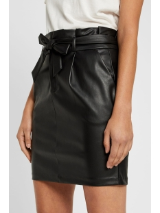 vmeva hr paperbag short skirt pu co 10225811 vero moda rok black