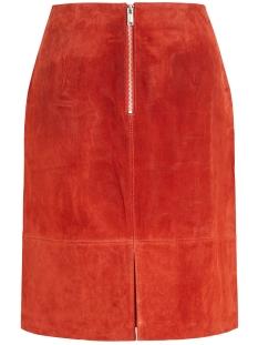 vifaith hw suede skirt/1 14054805 vila rok ketchup