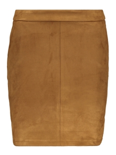 Vila Rok VIFADDY SKIRT/L 14056291 Toffee/FAKE SUEDE