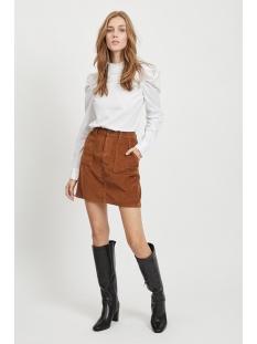 objruna short skirt 105 23030604 object rok brown patina