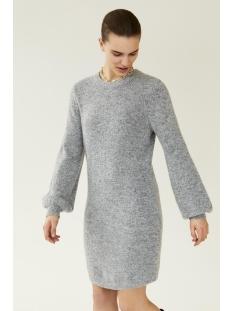 Object Jurk OBJEVE NONSIA L/S KNIT DRESS NOOS 23030170 Light Grey Melange
