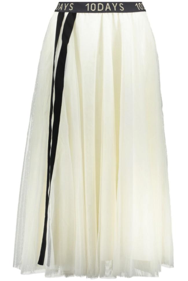 tulle skirt 20 107 9103 10 days rok winter white