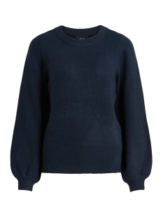 Object Trui OBJEVE NONSIA LS KNIT PULLOVER NOOS 23027064 Sky Captain