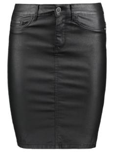 onlemilie rock coated skirt 15178694 only rok black