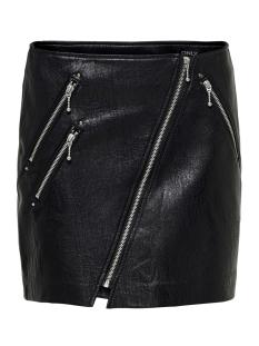 onlnaeve-tilda mini pu skirt pnt 15186814 only rok black