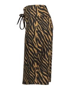 skirt 3577 iz naiz rok zebra camel