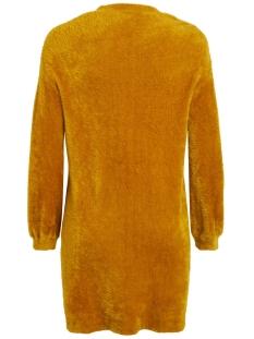 objcasra l/s knit long cardigan 106 23030775 object vest buckthorn brown