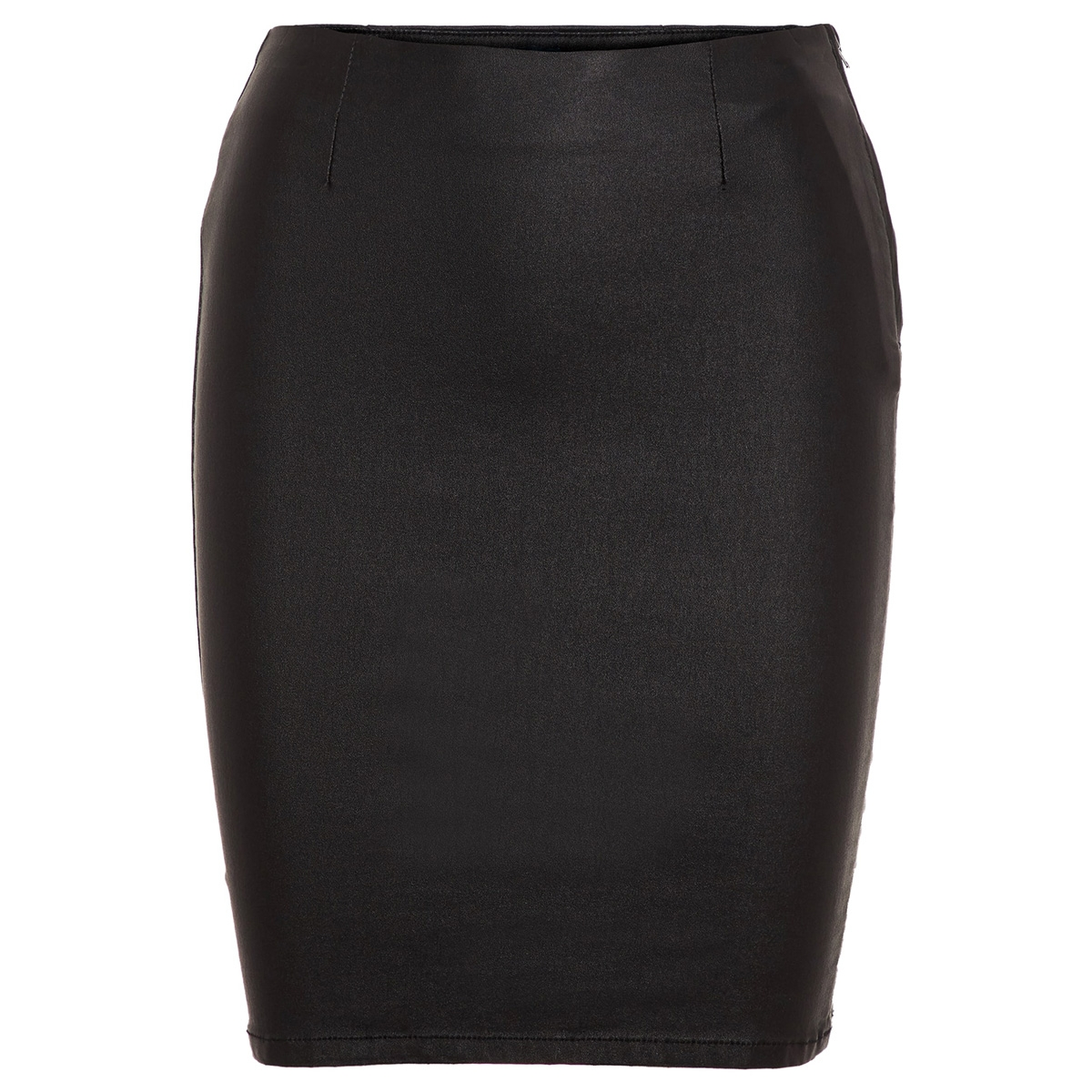 pcparo hw coated skirt/noos 17092820 pieces rok black