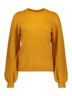 objeve nonsia ls knit pullover seas 23028232 object trui buckthorn brown