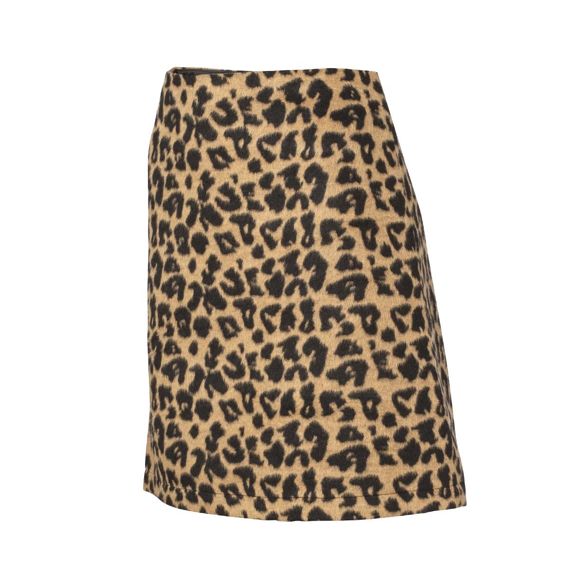 skirt aop leopard 96830 geisha rok panter