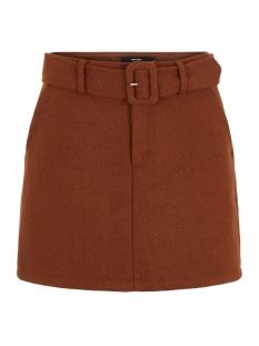 vmblaire hw short wool skirt ga 10218027 vero moda rok cognac