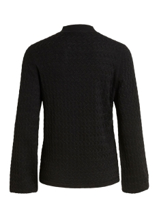 objlizzy l/s highneck knit pullover object trui black