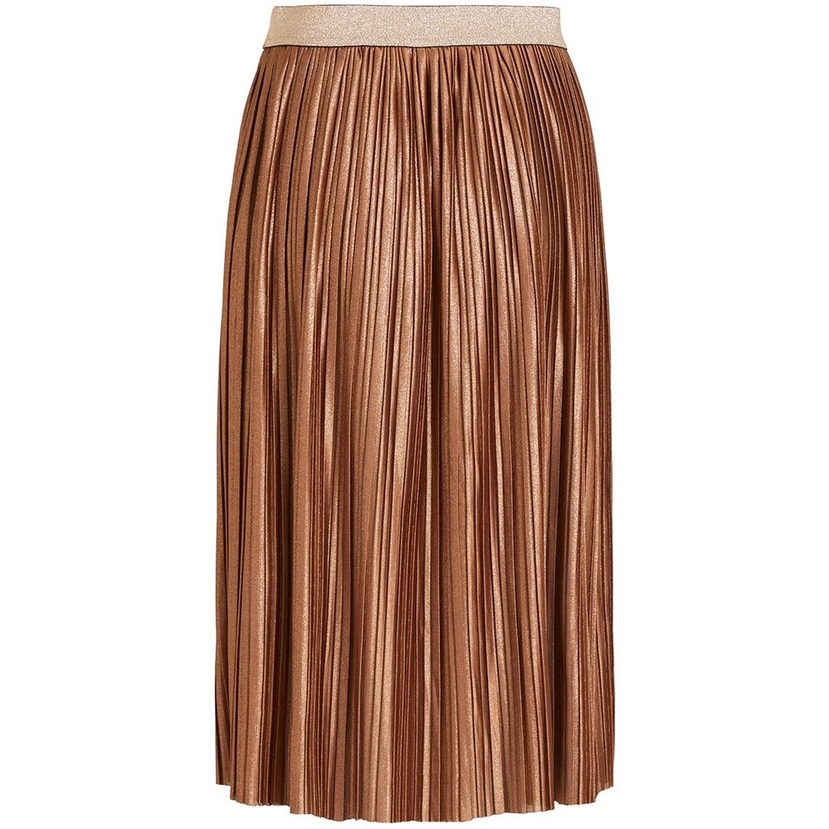 vikajsa midi skirt/des 14055009 vila rok toffee/w. copper