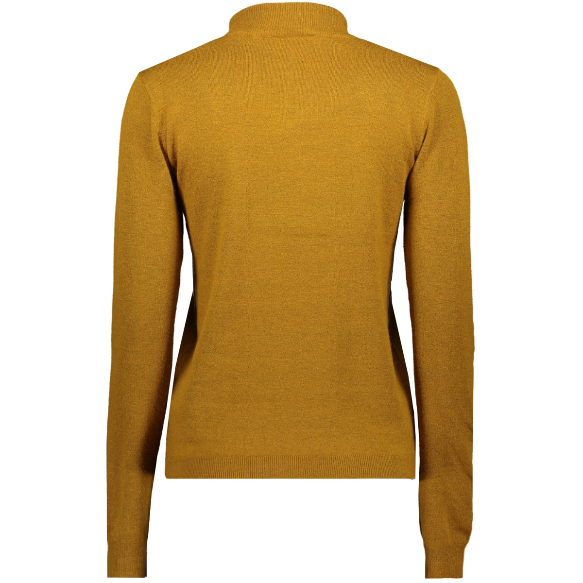 objthess l/s knit pullover seasonal 23030218 object trui buckthorn brown