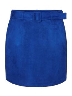 Vero Moda Rok VMCHILI FAUX SUEDE HW SHORT SKIRT 10221093 Sodalite Blue