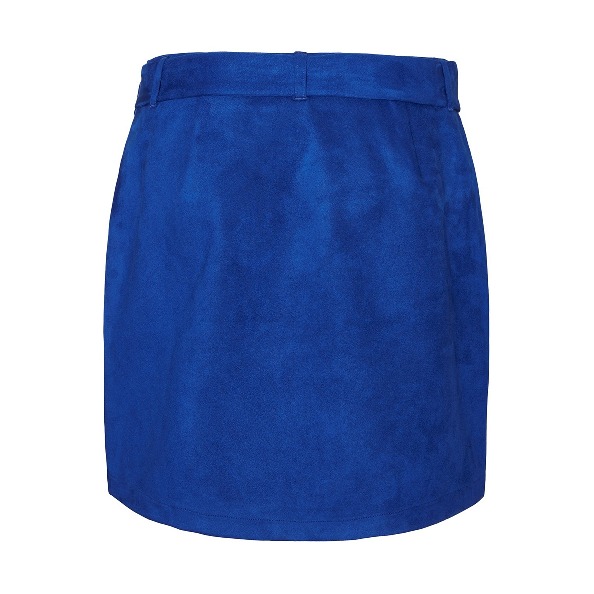 vmchili faux suede hw short skirt 10221093 vero moda rok sodalite blue