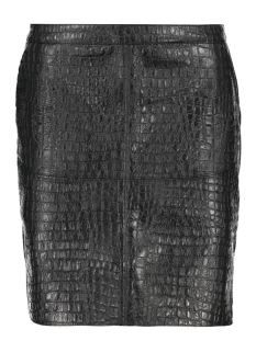 Geisha Rok SKIRT CROCO 96855 BLACK