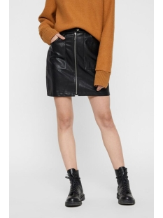nmmilo hw short skirt 27009719 noisy may rok black