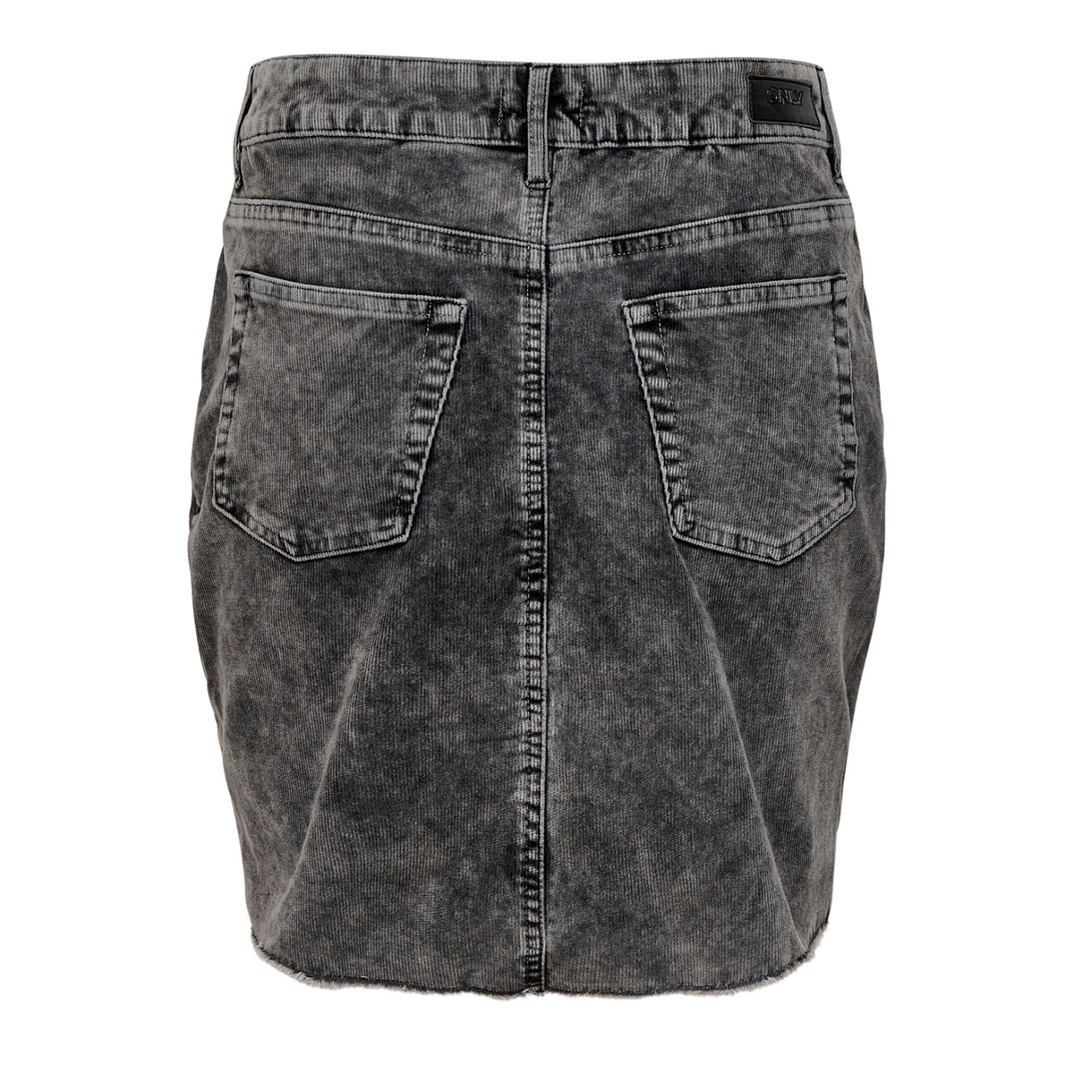 onlsky mouna-cord skirt pnt 15186778 only rok black denim