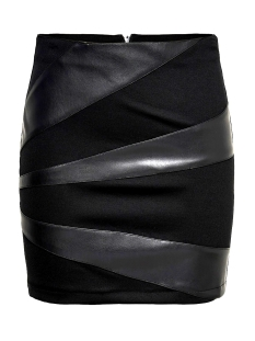 onldinas faux leather skirt otw 15190951 only rok black