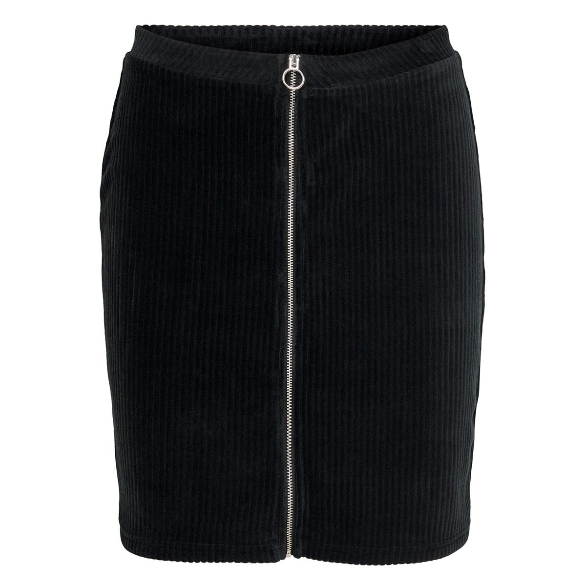 onlfenja zip skirt cs jrs 15198535 only rok black
