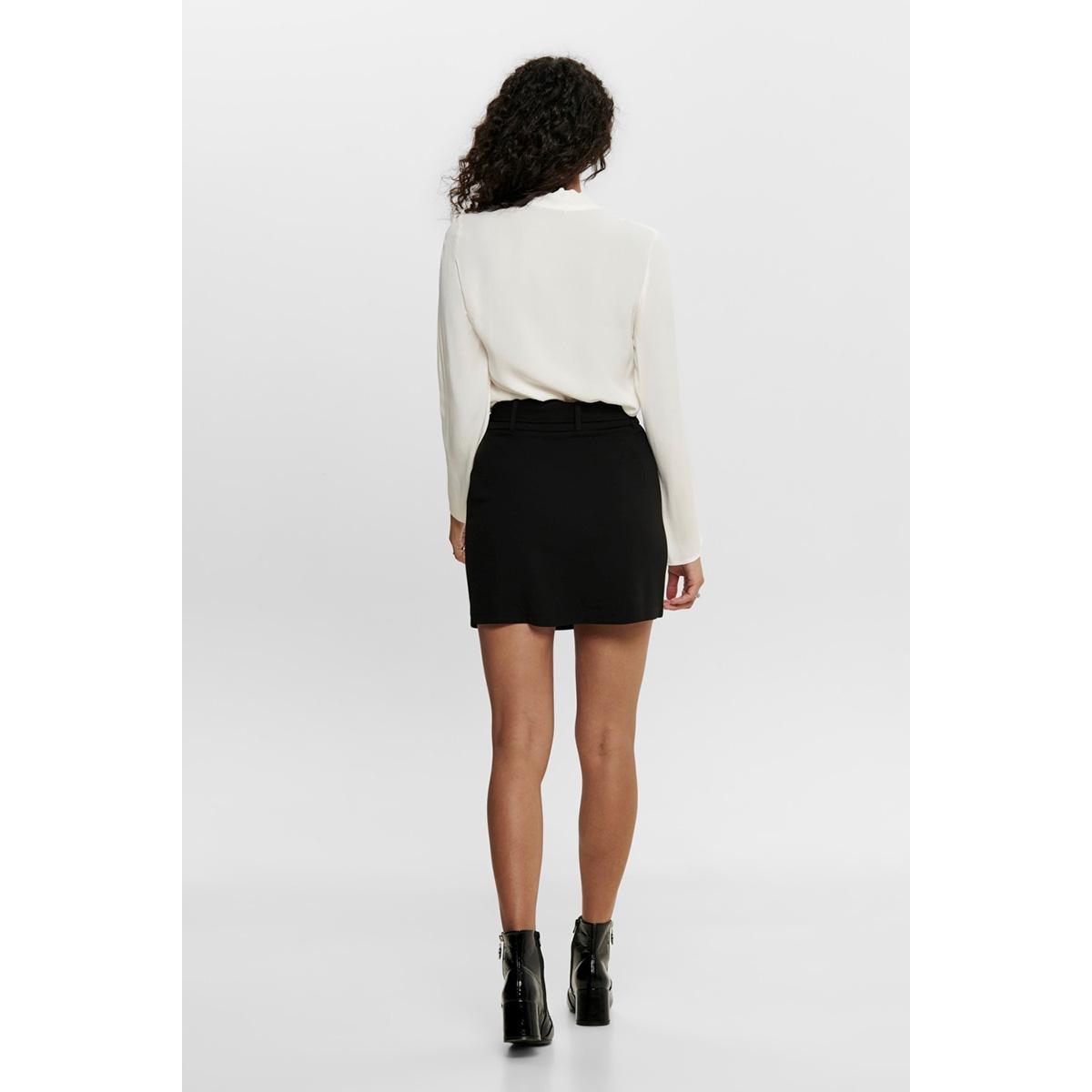 jdyeva skirt jrs 15188607 jacqueline de yong rok black/silver tri