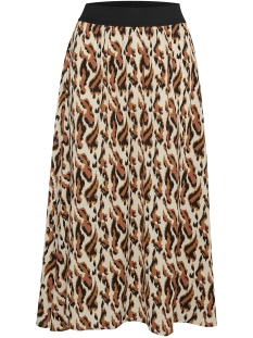 Saint Tropez Rok NORASZ SKIRT ANIMAL 30510387 131308 CREME