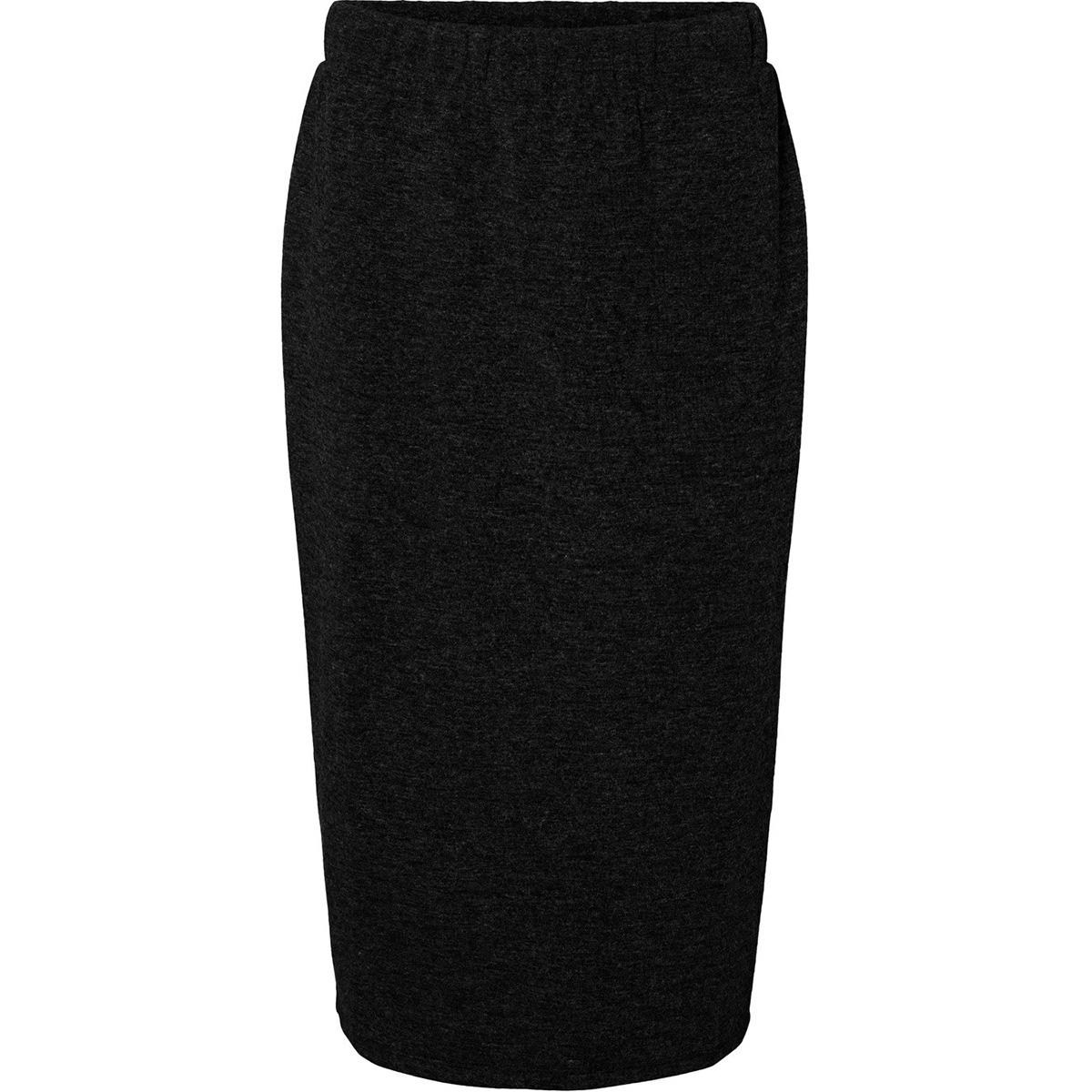 vmeast nw calf skirt jrs 1022210 vero moda rok black/solid